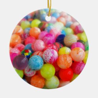 colourful balls ceramic ornament