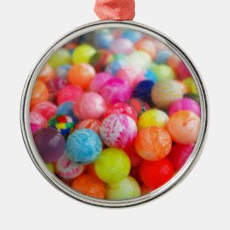 colourful balls metal ornament