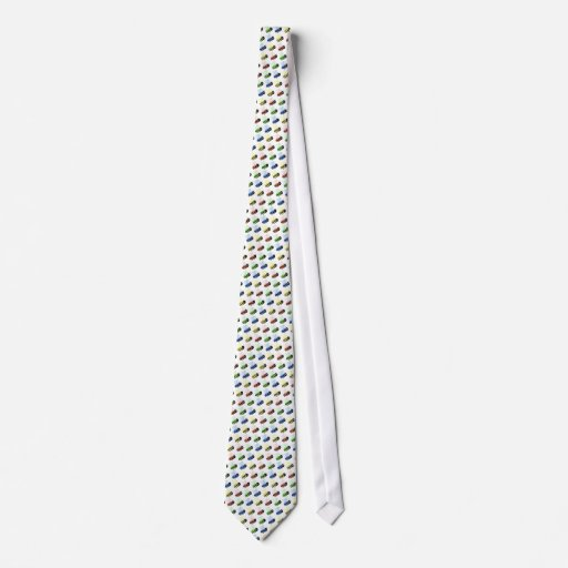 Colourful Bees Tie