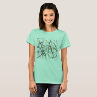 Colourful bicycle drawing T-Shirt