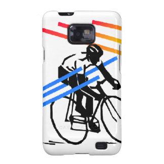 Colourful Bike Cycling Samsung Galaxy SII Cover