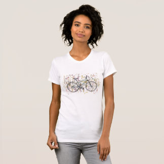 Colourful bike drawing T-Shirt
