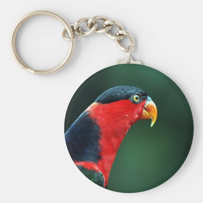 Colourful Bird Keychain