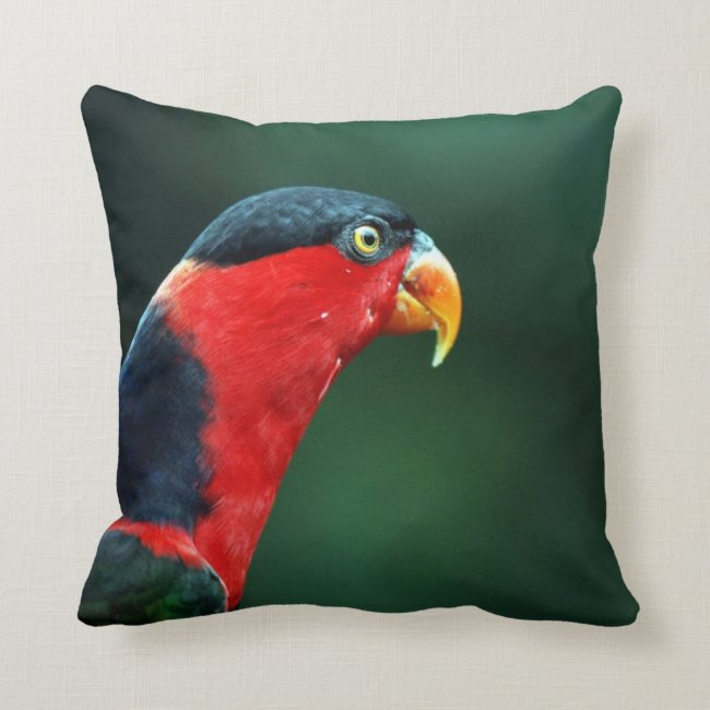 Colourful Bird Throw Pillow