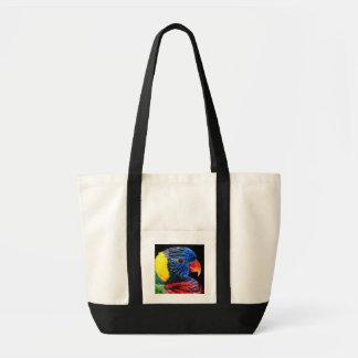 Colourful Bird Tote Bag