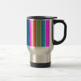 Colourful Blocks Travel Mug