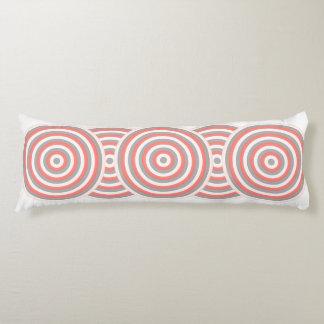 Colourful Body Pillows with Circular Design Body Pillow