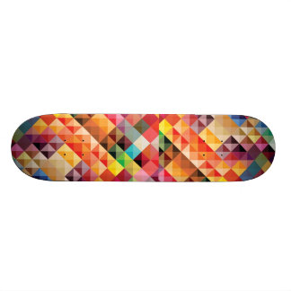 COLOURFUL BOHEK SQUARES PATTERNS BACKGROUNDS DIGIT SKATEBOARD