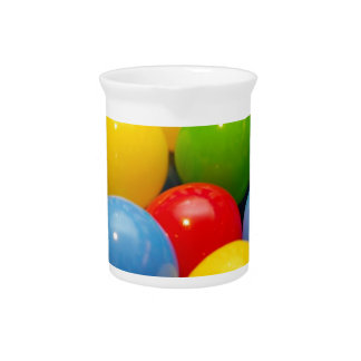 Colourful Bouncy Play Balls Pitcher