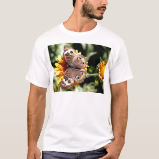 Colourful Brown Butterfly with Multiple Eyes T-Shirt