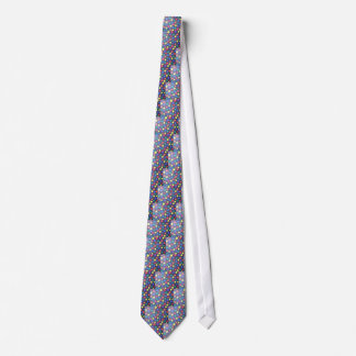 COLOURFUL BUBBLE GUM DOODLE RED GREEN BLUE BLACK O TIE