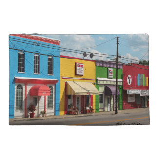 Colourful Buildings Accessory Bag