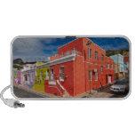 Colourful Buildings en Bo-Kaap, Cape Town iPhone Altavoz