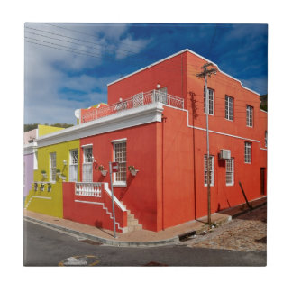 Colourful Buildings en Bo-Kaap Cape Town Teja