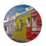 Colourful Buildings en Bo-Kaap, Cape Town Tablero Dardos