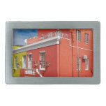 Colourful Buildings en Bo-Kaap, Cape Town Hebillas Cinturón