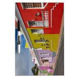 Colourful Buildings en Bo-Kaap, Cape Town Pizarra