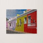 Colourful Buildings en Bo-Kaap, Cape Town Puzzles Con Fotos