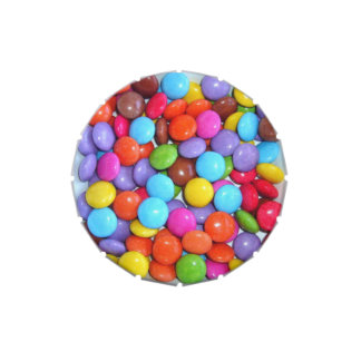 Colourful Candy Buttons Candy Tin
