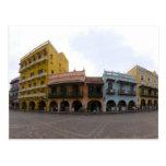 Colourful Cartagena Postcard