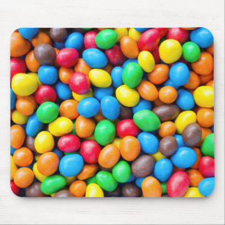 Colourful Chocolate Coated Sweets Mouse Pad