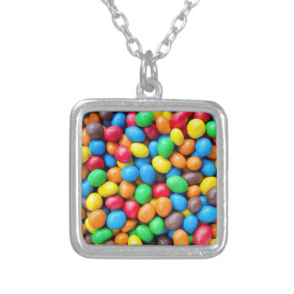 Colourful Chocolate Coated Sweets Pendant Necklace
