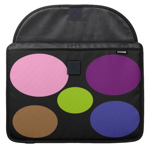 Colourful Circles Mac Book Sleeve Sleeves For MacBook Pro