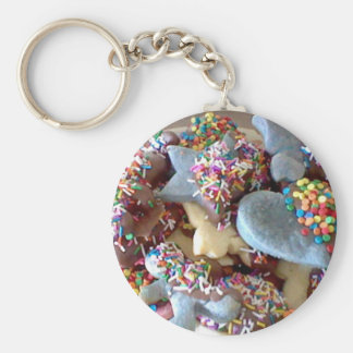 Colourful Cookies Key Chain