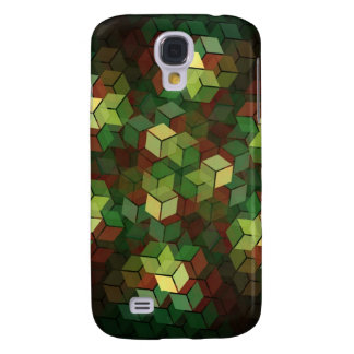 Colourful Cubes Galaxy S4 Covers