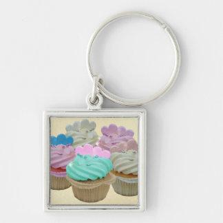 Colourful Cupcakes Keychain