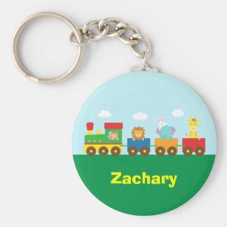 Colourful Cute Animals Train for Kids Key Chain