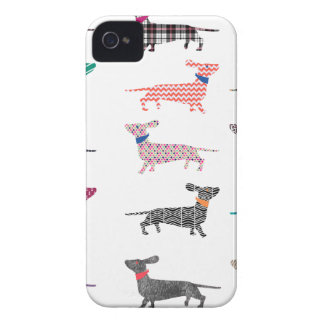 Colourful Dachshund! iPhone 4 Case-Mate Case