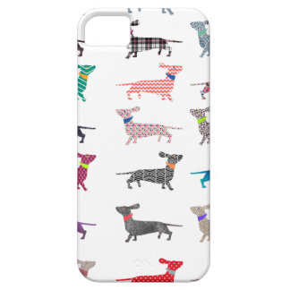 Colourful Dachshund! iPhone SE/5/5s Case