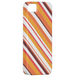 Colourful Diagonal Stripes Seamless Pattern iPhone 5 Covers