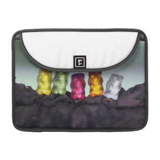 Colourful Diversity Gummy Bears Photography Sleeve For MacBook Pro