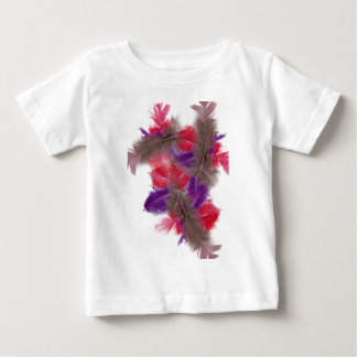 colourful feathers copy2 tee shirt