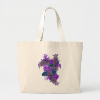 colourful feathers copy3 tote bags