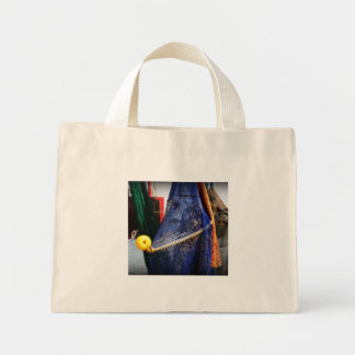 Colourful fishing nets, vignetted, Florida scene Canvas Bag