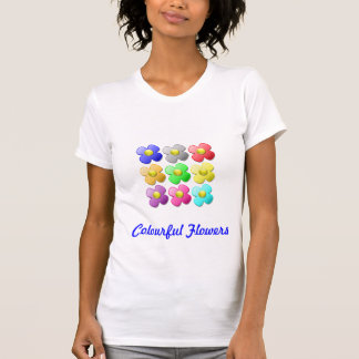 Colourful Flowers T-Shirt