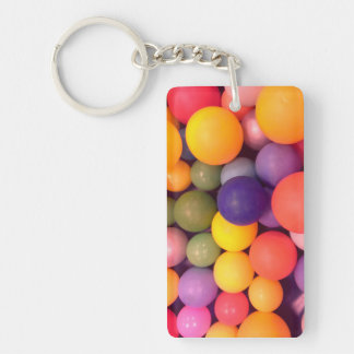 Colourful Fun Ball Pit Key Ring