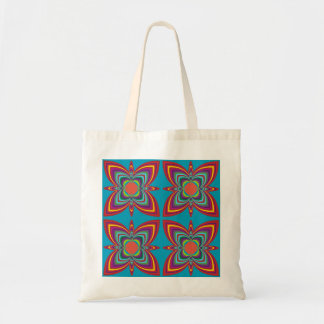 Colourful Geometric Pattern Tote Bag