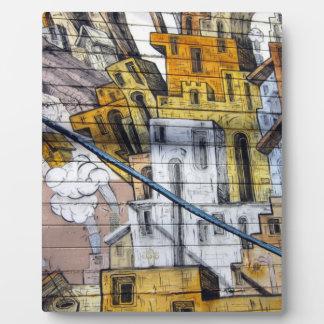 Colourful Graffiti House Design in San Francisco Photo Plaques