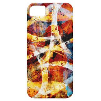 Colourful graffiti pattern iPhone SE/5/5s case