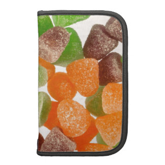 Colourful gum candy sprinkled with sugar folio planners