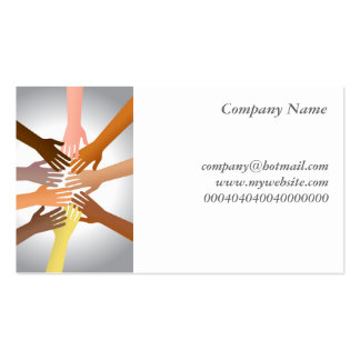 Colourful Hands Business Cards