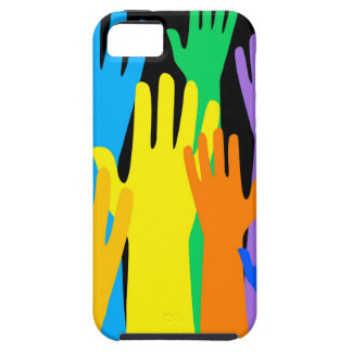 Colourful Hands iPhone 5 Covers