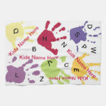 Colourful Hands Mom Kitchen Towel