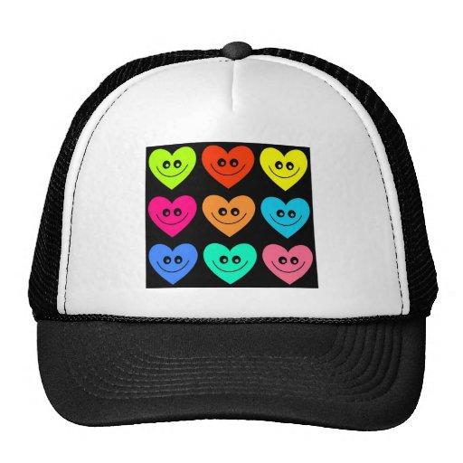 Colourful Heart Trucker Hat