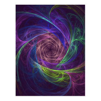 colourful-infinity postcard