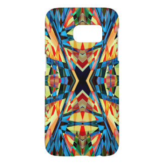Colourful kaleidoscope circus background samsung galaxy s7 case